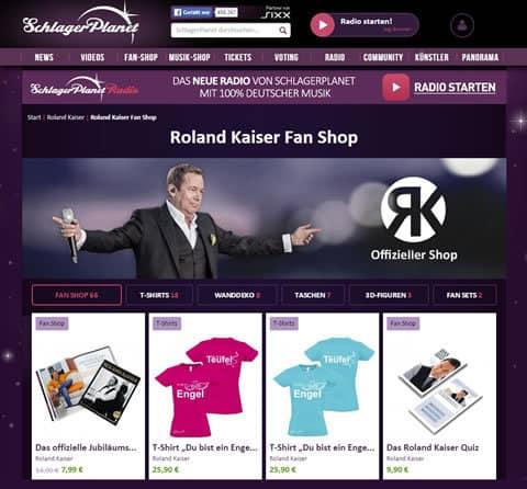 Roland Kaiser Fanshop